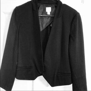 Lauren Conrad black Open front Blazer size 10
